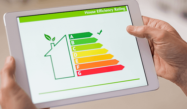image of energy efficiency rating chart